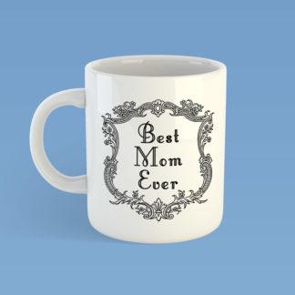Best Mom Ever Framed Mug