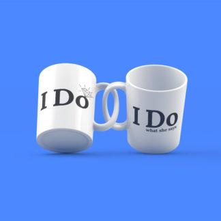 I Do Couples Mugs