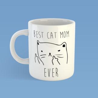 Best Cat Mom Ever Mug