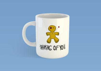 Voodoo Doll Thinking Of You Mug