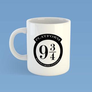Platform Nine And Three Quarters Mug